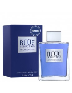 Perfume Antonio Banderas Blue Seduction Masculino 200 ml