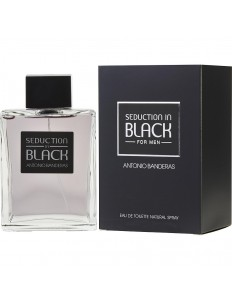 Perfume Antonio Banderas Seduction In Black For Men 200ml EDT