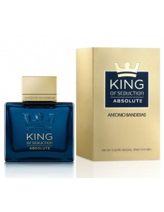 Perfume Antonio Banderas King Of Seduction Absolute Masculino 50ml EDT