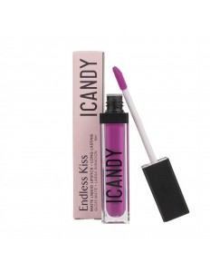 Batom Liquido Icandy Endless Kiss Whisper Me Pink CK33