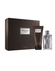 Kit First Abercrombie & Fitch Perfume 100ml + Sabonete Líquido 200ml