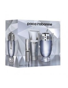 Kit Paco Rabanne Invictus - EDT 100ml + Gel de Banho 100ml Travel size 10ml