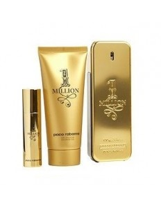 Kit Paco Rabanne - EDT 100ml + Gel de Banho 100ml Travel size 10ml Masculino