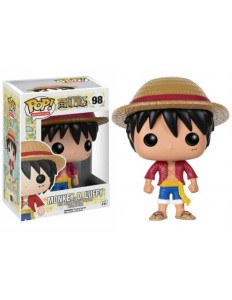 BONECO FUNKO POP ONE PIECE MONKEY D.LUFFY 98