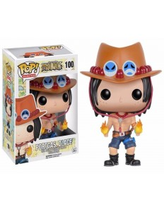 BONECO FUNKO POP ONE PIECE PORTAGAS .D.ACE 100