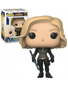 BONECO FUNKO POP MARVEL INFINITY WAR BLACK WIDOW 295