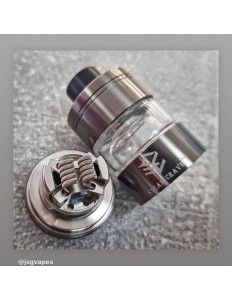 VAPE STEAM CRAVE GLAZ RTA GUNMETAL
