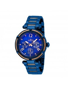 Relogio Invicta Bolt 29137 Blue  Gold