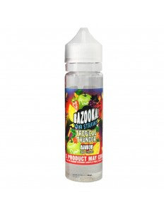 ESSENCIA BAZOOKA RAINBOW SOUR STRAWS TROPICAL THUNDER 0MG 60ML