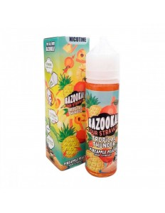 Essência Bazooka Tropical Thunder Pineapple Peach 3mg 60ml