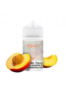 Essência Naked Peachy Peach 3Mg 60Ml
